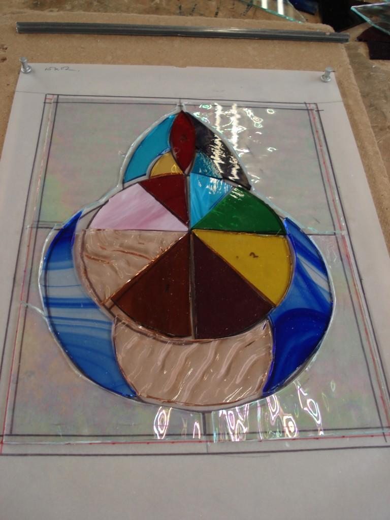 Stained glass John Mason 003