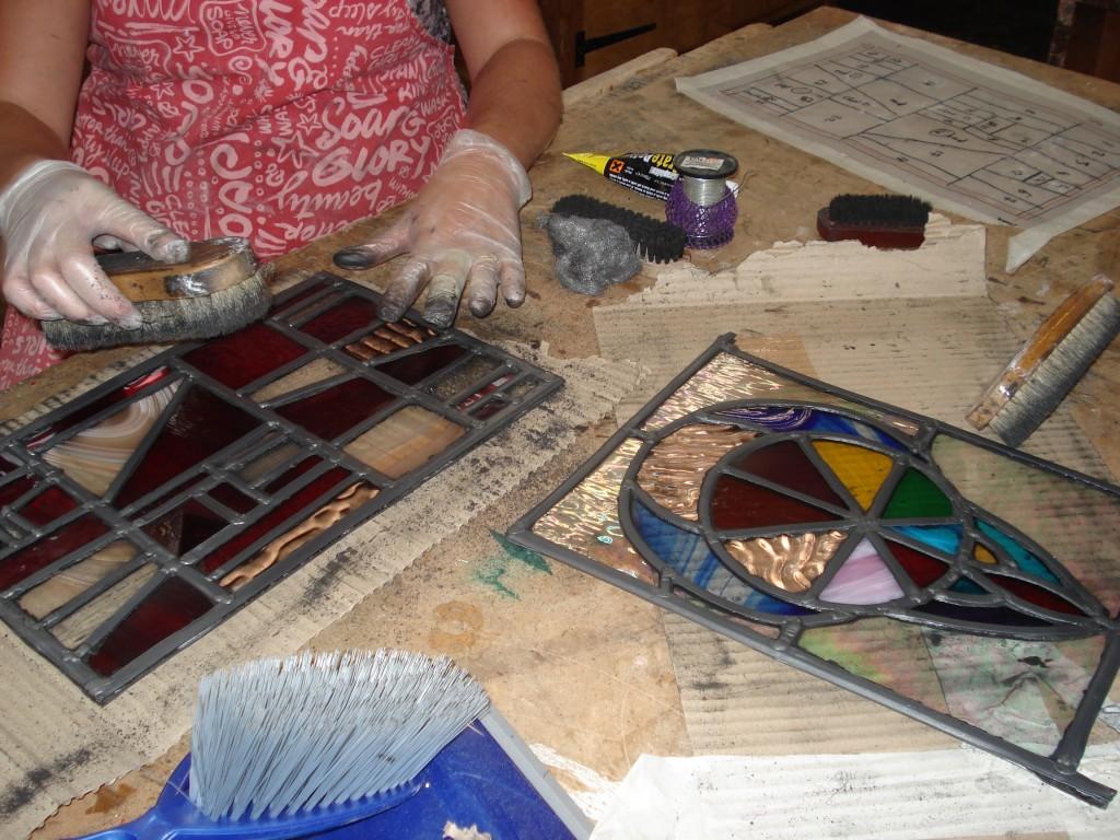 Stained glass John Mason 019