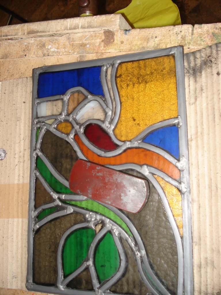 Stained glass John Mason 026