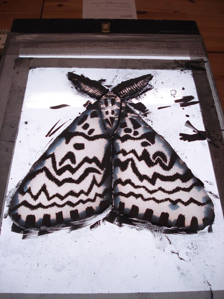 glass painting moth 003