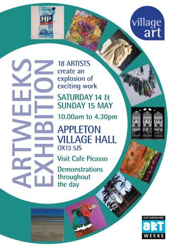 village art artweeks poster 2016