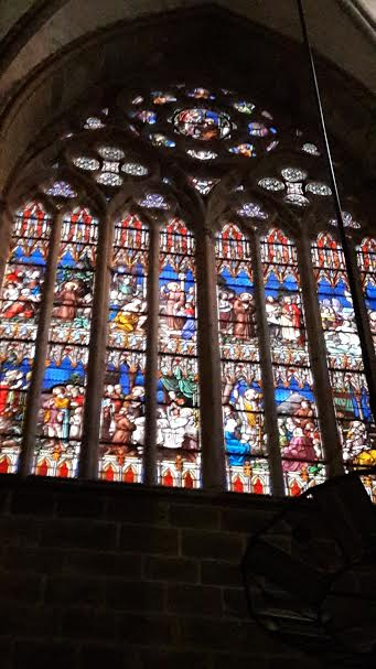 window in cathedral